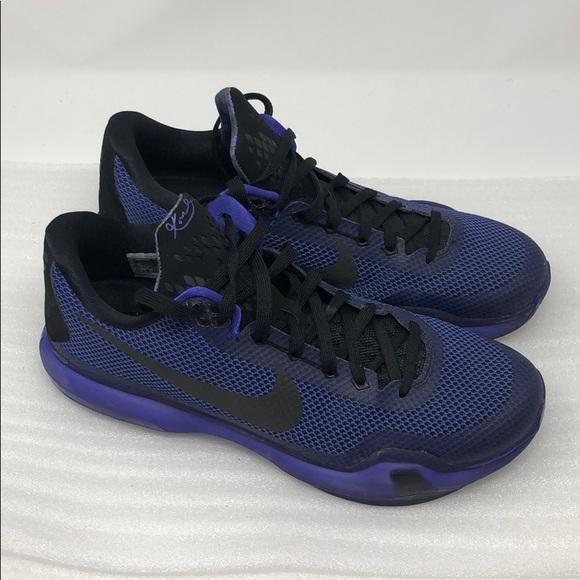 the best attitude ab410 37981 Kobe X 10 blackout purple violet size 11. M 5b9ecf6204e33dc2dee9644b